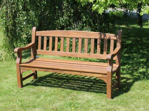 hardwood outdoor bench Boru Ireland
