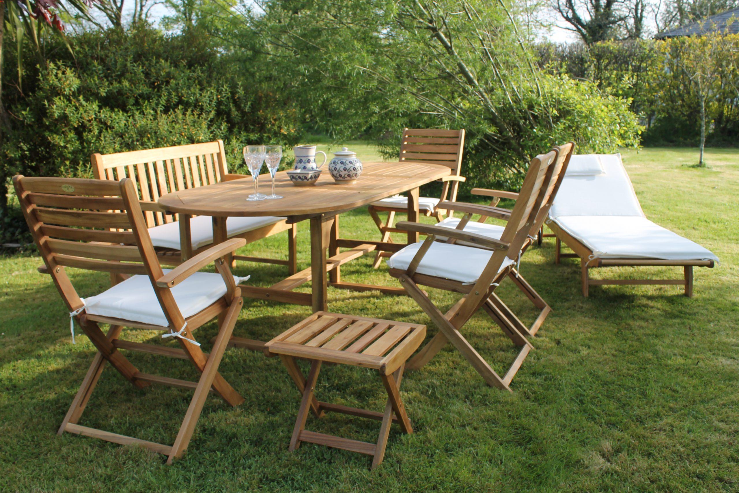 Tara 14 Piece Eco Dining Set garden furniture Ireland