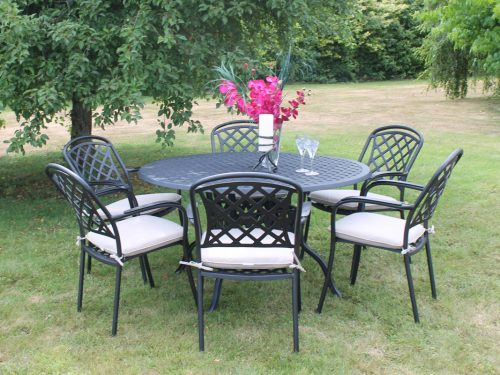 Cooley CAST ALUMINIUM FURNITURE 6 sea dining set Outdoor and Garden Furniture Culcita Ireland