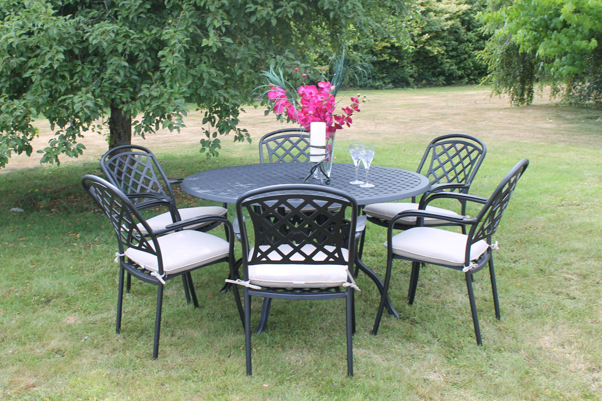 Cooley CAST ALUMINIUM FURNITURE 6 sea dining set Outdoor and Garden Furniture Culcita Ireland