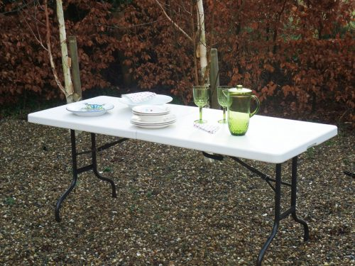 White table outdoor furniture